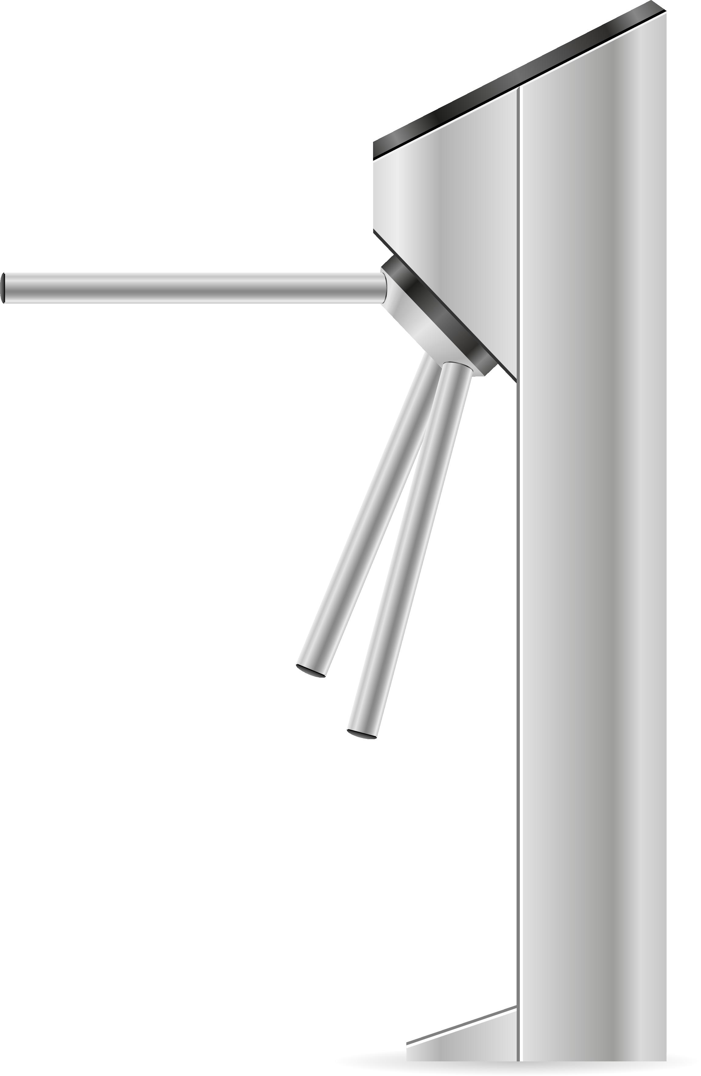 Automatischer Einlass mit dem Drehkreuz von Connfair