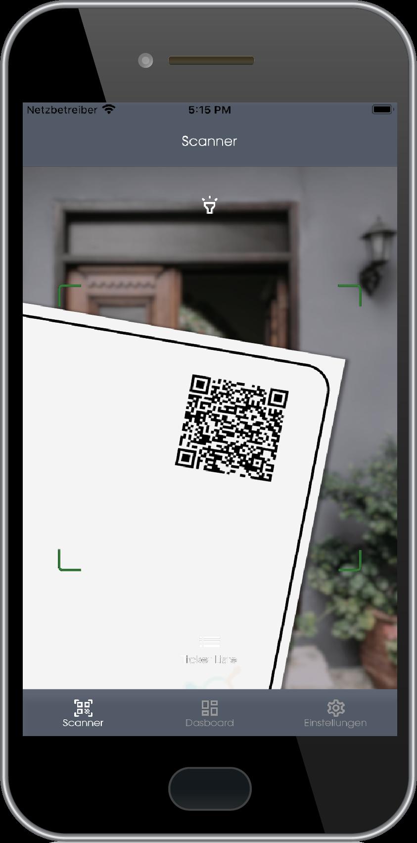 Ticketscanner in der Admin App von Connfair